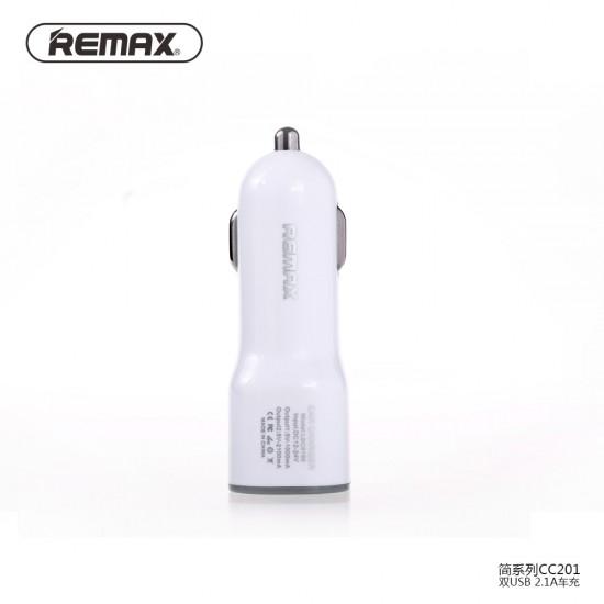 شاحن عربيه - ريماكس RCC-201 - أبيض