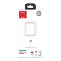 joyroom jr-t03s - الإصدار الرابع الجديد In-Ear Detection Bluetooth 5.0 Wireless Charging