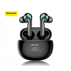 Awei T15P TWS Bluetooth Earphone - Black
