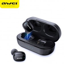 Awei T20 TWS Bluetooth Earphone - Black