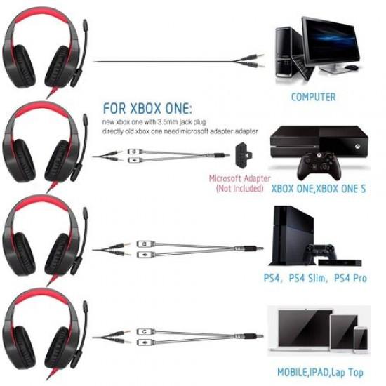 Onikuma K1B Surround Sound headphone