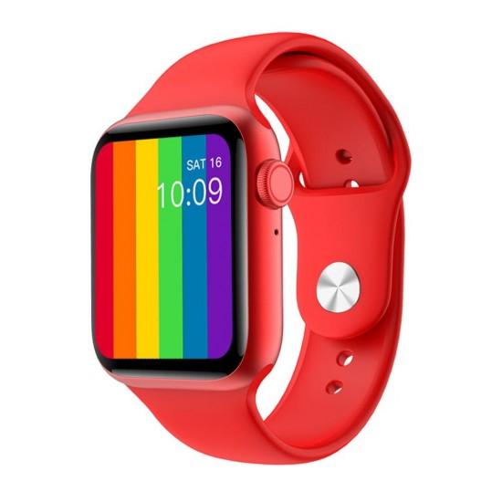 ساعة ذكية I86- شاشة كاملة -  متوافقه مع اندرويد - ios