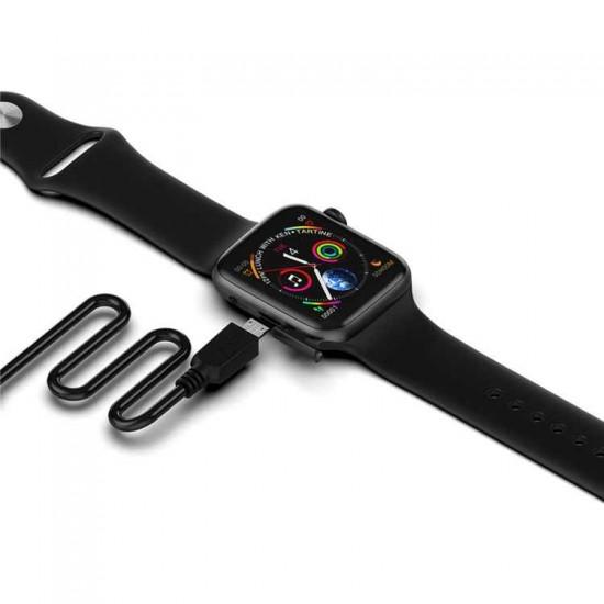 ساعة ذكية W34 - متوافقه مع اندرويد - ios
