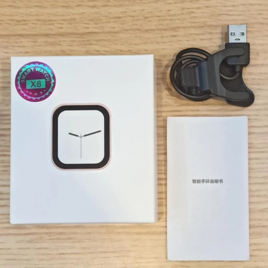 ساعة ذكية X8- متوافقه مع اندرويد - ios