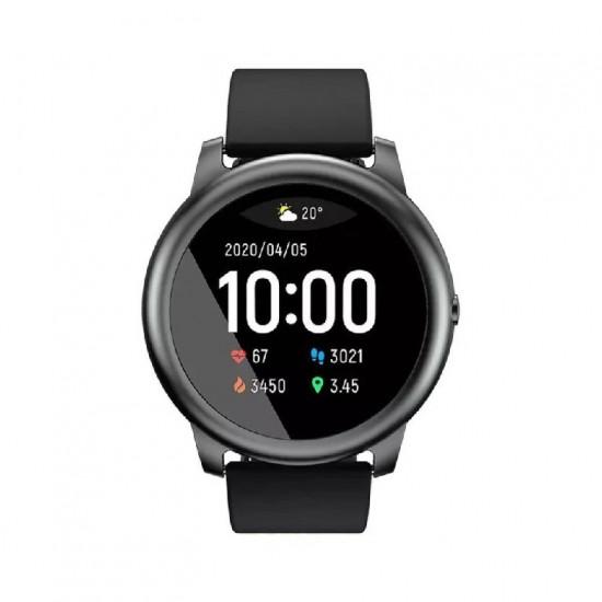 ساعة ذكية Haylou solar LS05 متوافقة مع الأندرويد والأيفون - اسود
