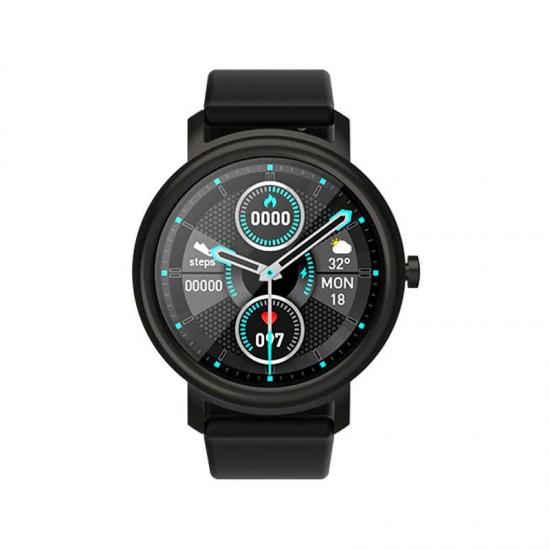 ساعة ذكية Mibro Air متوافقة مع الأندرويد والأيفون - اسود