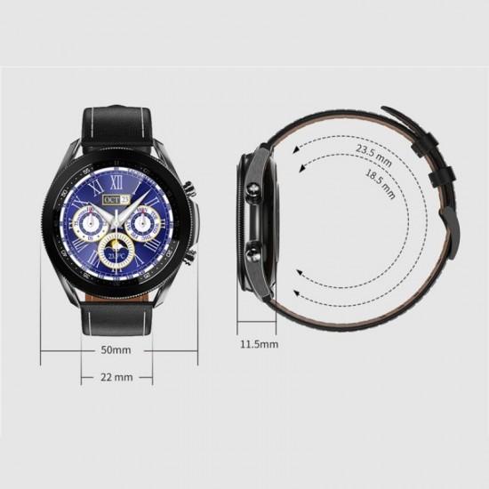 ساعة ذكية  W3 - متوافقه مع اندرويد - ios - اسود